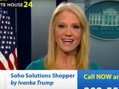 Go buy Ivanka's stuff -  White House launches TV shopping channel WhiteHouse24