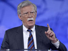 John Bolton asks Pentagon to deploy 120,000 troops to counter Iran